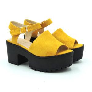 Sandalia Fedora amarillo
