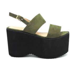 Sandalia Amelia verde