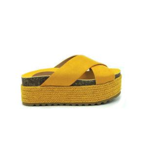 Sandalia Zenda amarillo