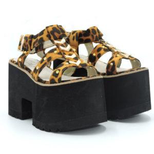 Sandalia Micol leopardo