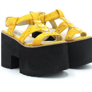 Sandalia Micol amarillo